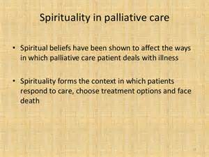 Connected Palliative Care Religion And Spirituality In Palliative Care