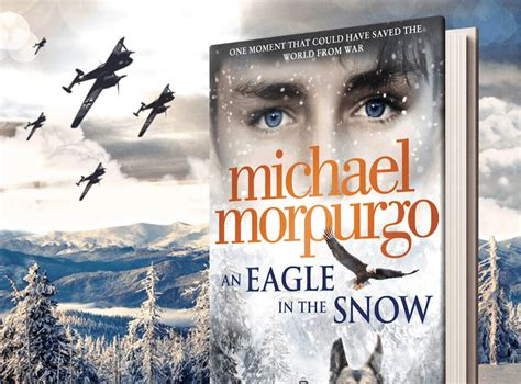 an eagle in the snow books books michael morpurgo