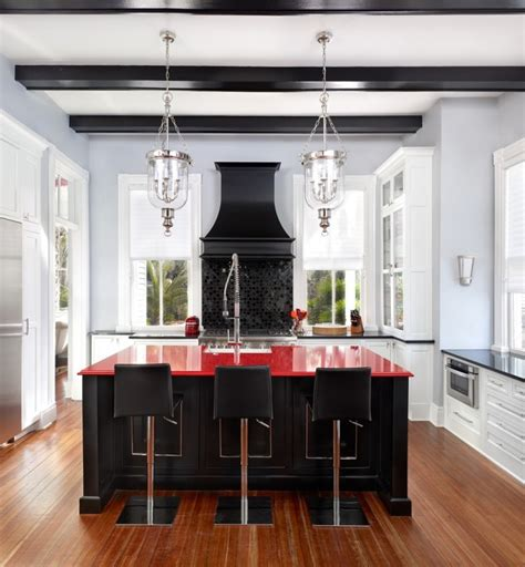 red kitchen decor ideas kitchen design ideas red kitchen house interior