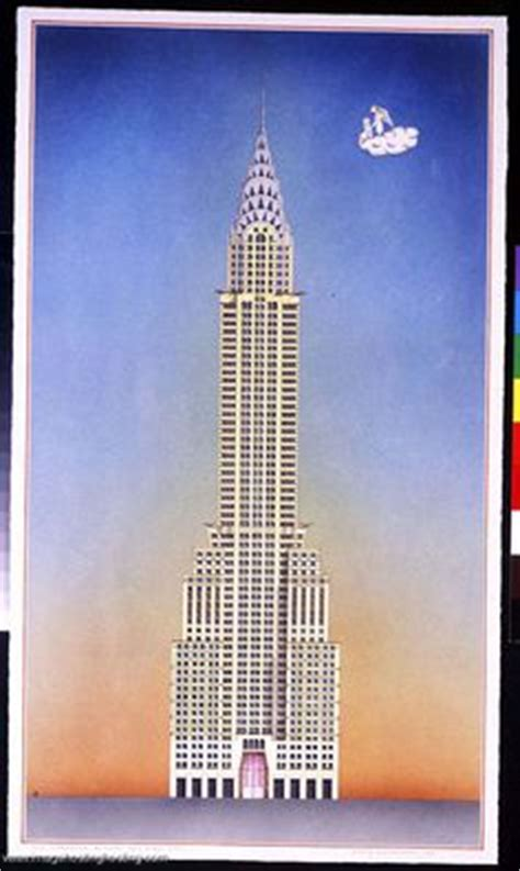 Chrysler Building Blueprint by 1000 Images About Skyscrapers On Chrysler