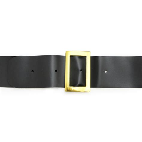 2 quot black santa belt 2382 craftoutlet com