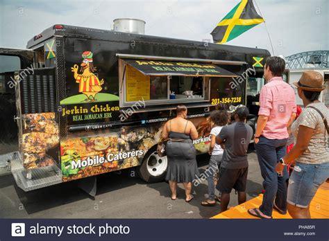 jerkin chicken restaurant jamaican food usa stock photos jamaican food usa stock