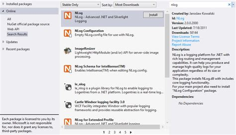 layout nlog using nlog to provide custom tracing for your asp net web