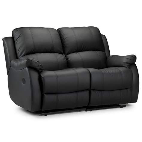 2 Seater Reclining Leather Sofa 2 Seat Recliner Sofa Smileydot Us