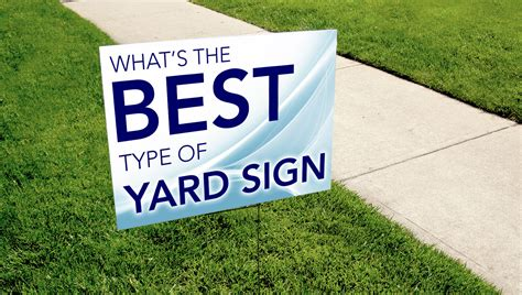 faq what s the best type of yard sign tko graphix