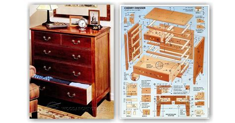 cherry chest of drawers plans cherry dresser plans woodarchivist