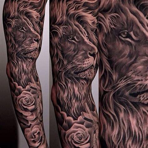 animal tattoo designs for men half sleeve of animal for photo 3