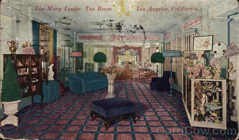 tea room los angeles the louise tea room los angeles ca postcard