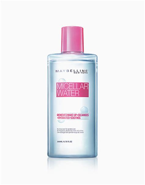 Maybelline Micellar Water micellar water 4 in 1 by maybelline products beautymnl