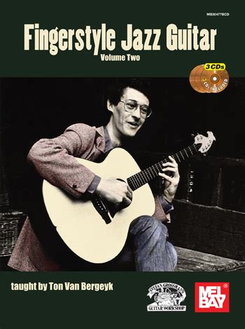 dvd tutorial fingerstyle fingerstyle jazz guitar volume one 3 cd set taught by