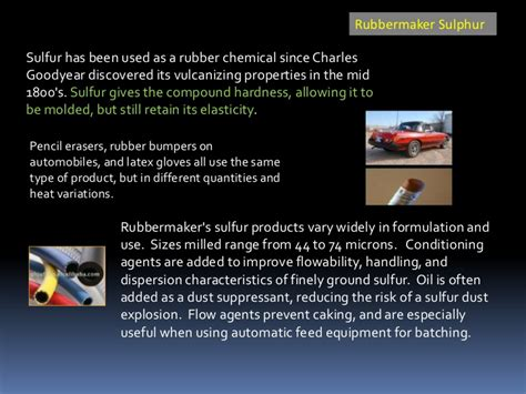 Sulfur History Technology Applications Industry 2nd Edition presentation to asia sulphur downstreams 2010