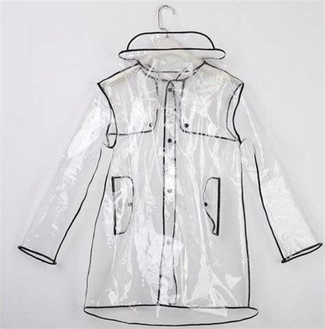 pattern kway kway meaning short long transparent pvc raincoat runway womens girls