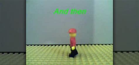 lego walking tutorial how to make a lego man walking animation 171 stop motion