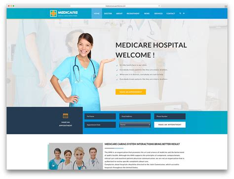 top ten health and medical wordpress themes for doctors