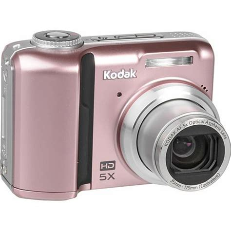 Pink Leather Digital By Kodak by Kodak Easyshare Z1485 Is Digital Pink 1811546 B H