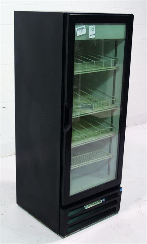Glass Door Cooler Used Used Beverage Air Lv12 1 B 1 Glass Door Merchandiser Cooler Sku 182574 Sold