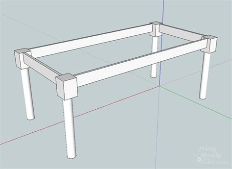 how to build a base for an apron front sink how to build a table