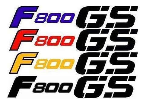 Aufkleber Bmw F800gs by 4x Sticker Bmw F800gs Different Colors King Biker