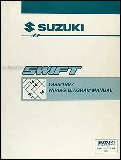 1995 suzuki swift 1000 1300 repair shop manual original 1996 suzuki swift 1000 1300 repair shop manual supplement original
