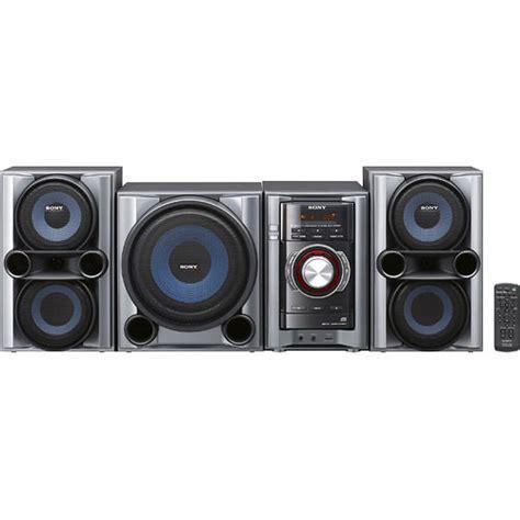 sony mhc ec98pi mini hi fi shelf system mhc ec98pi b h photo