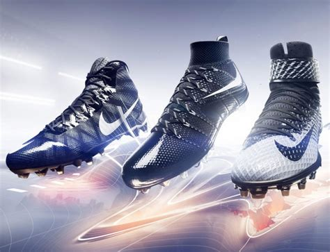 new nike shoes football nike introduces 3 new american football cleats
