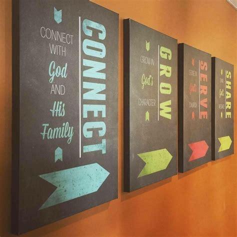 church wall decor ideas 25 best ideas about church lobby on church