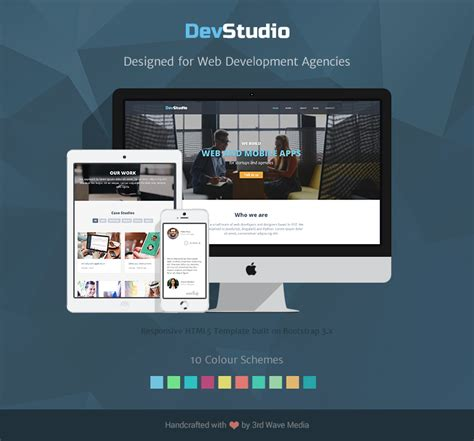 Responsive Bootstrap Theme For Web Development And Design Agency Email Templates For Web Designers And Developers