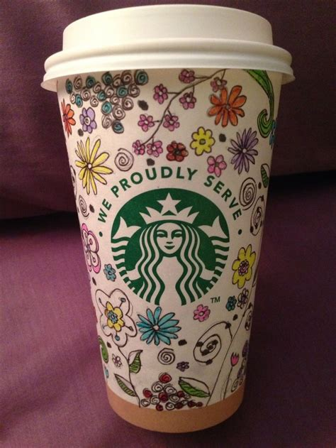 starbucks doodle travel mug starbucks cup starbucks