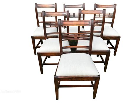 18 dining chairs six 18th century dining chairs antiques atlas