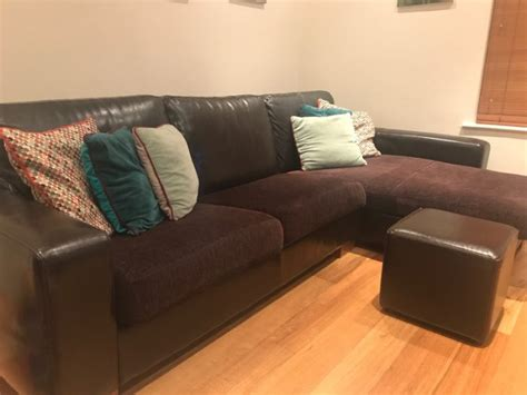 tub sofas for sale boconcept brown leather sofa tub chair and foot stool for