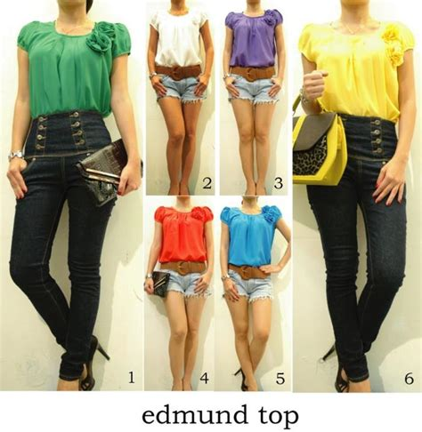 Top Rajut Scalop ready fashion measy collection yuna vicory collection dll eloise s room