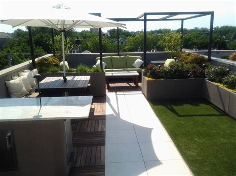 Lighting For Sitting Room - cubbies rooftop chicago by chicago green design inc
