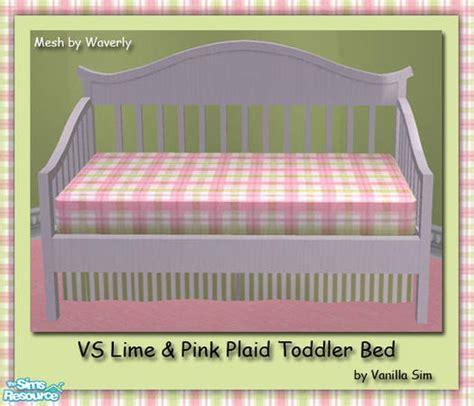 crib vs toddler bed vanilla sim s vs lime pink plaid toddler bed