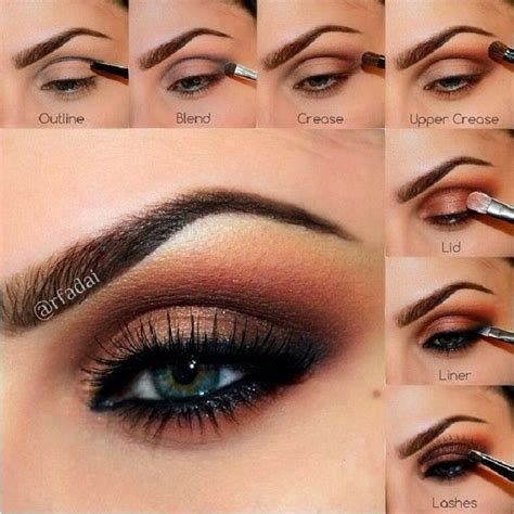 10 Brown Smokey Eye Tips by 10 Fall 2015 Make Up Trends And Ideas Brown Smoky Eye