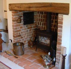 Wooden Lintel Fireplace by 1000 Images About Living Room On Wood Burner Exposed Brick And Log Burner
