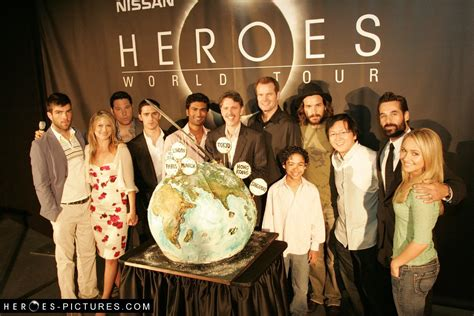 heroic voices of the heroes cast heroes photo 3827352 fanpop