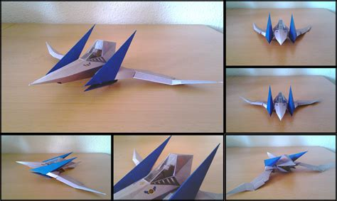 Arwing Papercraft - starfox arwing by destro2k on deviantart