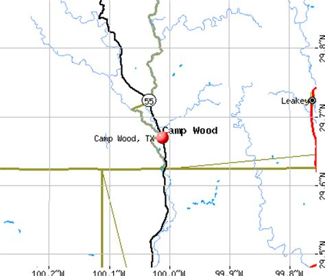 c wood texas map c wood texas tx 78833 profile population maps real estate averages homes statistics