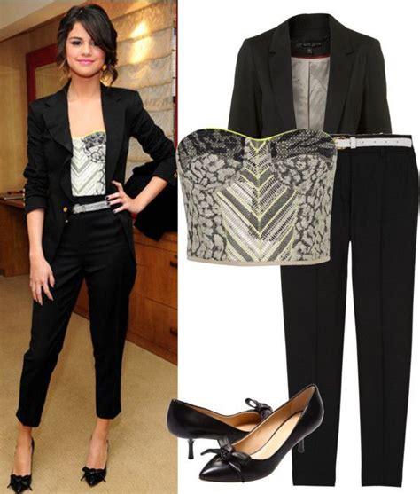 splurge selena gomezs bbc radio 1 giuseppe zanotti fall selena gomez style love her outfits pinterest