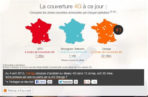 orange joue 224 qui 224 la plus longue couverture 4g