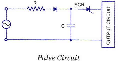 capacitor pulse circuit scr applications electronic circuits and diagrams electronic projects and design
