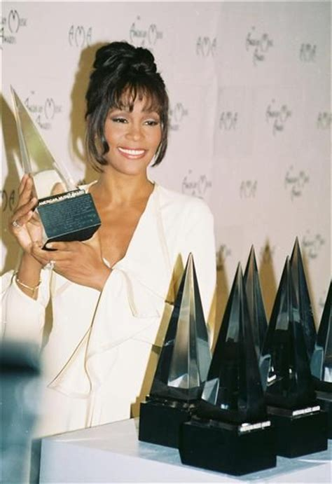file whitney houston 21st american music awards february 913 best images about salute to whitney on pinterest
