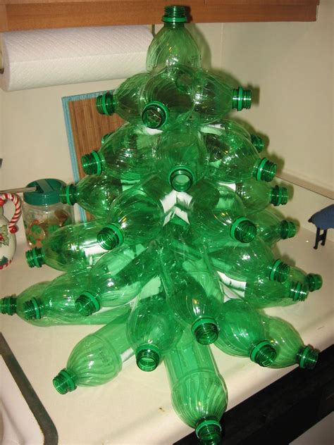 soda in christmas tree water plastic bottle tree step6 by flood7585 on deviantart