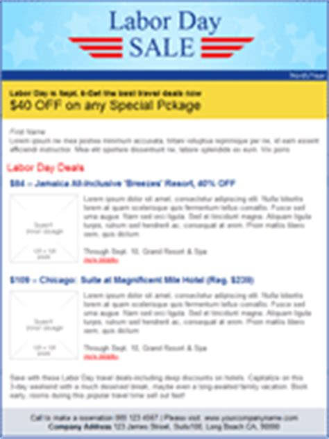 Labor Day Email Marketing Templates Labor Day Email Template