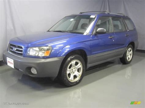 blue subaru forester 2003 2003 pacifica blue metallic subaru forester 2 5 x