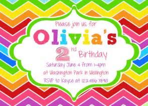 rainbow birthday invitation printable and custom by