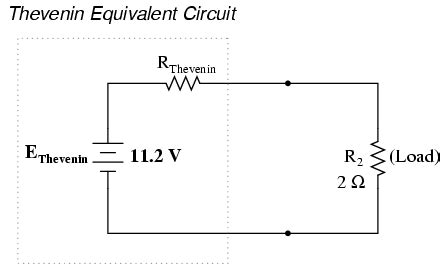 resistor equivalent circuit thevenin s theorem dc network analysis