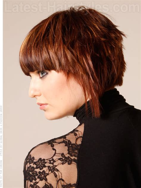 heavy side bang hairstyles 20 incredible short hairstyles for thick hair