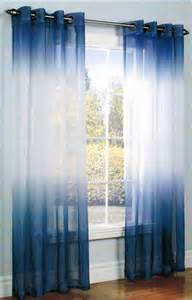 Ombre Sheer Curtains J Ombre Semi Sheer Grommet Top Curtain Panel Legacy