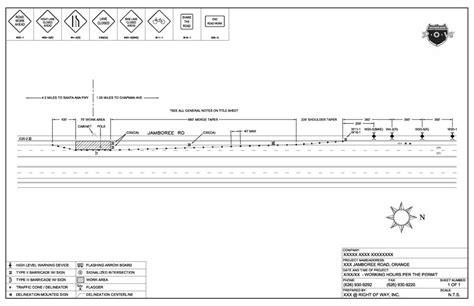 traffic control plans amp engineering row traffic control